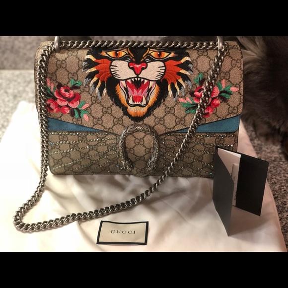 Gucci Handbags - GUCCI DIONYSUS GG MEDIUM SHOULDER BAG